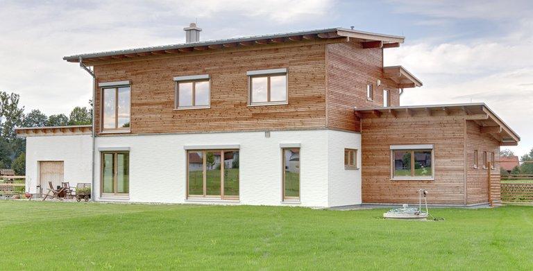 Kundenhaus ATTERSEE  (Sonnleitner Holzbauwerke) Copyright: