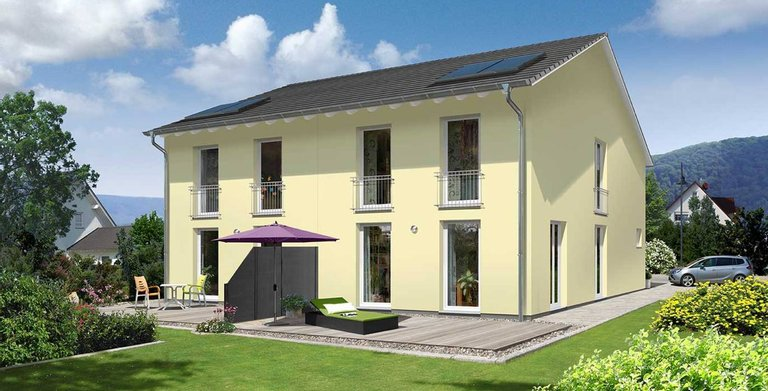 Doppelhaus Aura 125 - Trend Copyright: Town & Country Haus