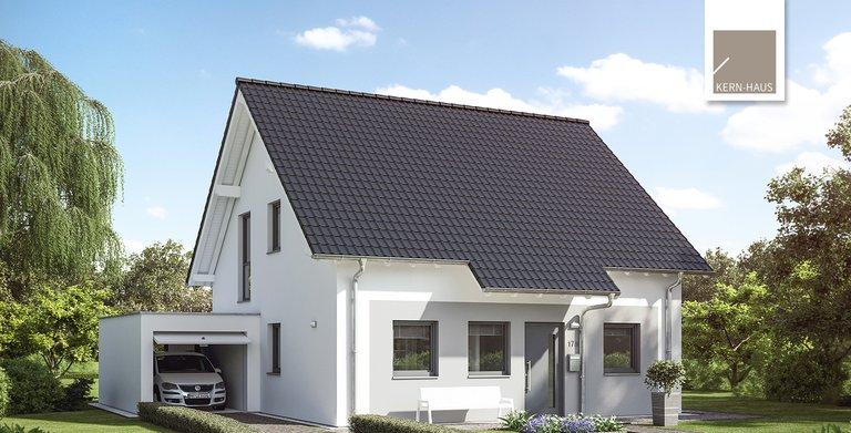 Kern-Haus Familienhaus Luna Eingangsseite Copyright: