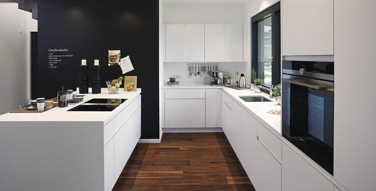 Hip und praktisch zugleich - die Küche als Erlebnisraum Copyright: WeberHaus