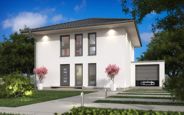 Stadtvilla SH 135 S Copyright: ScanHaus Marlow GmbH
