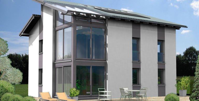 Planungsbeispiel Einfamilienhaus 139H20 von Bio-Solar-Haus