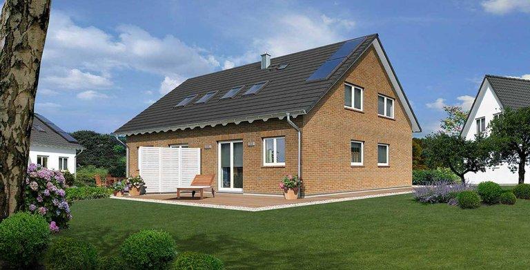 Doppelhaus Behringen 116 - Klinker Copyright: Town & Country Haus