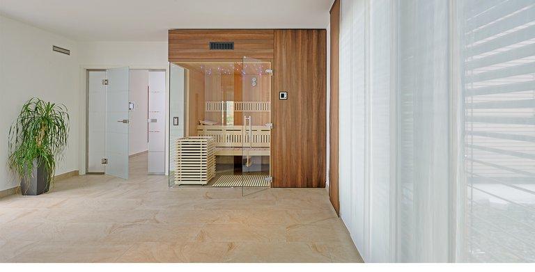 Naturholzhaus Azur Sauna Copyright: