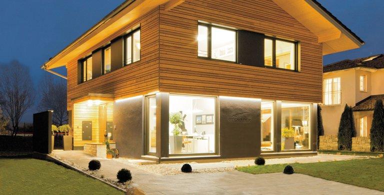 Haus Heidi Von Regnauer Hausbau Gmbh Co Kg Hausbaubuchinfo