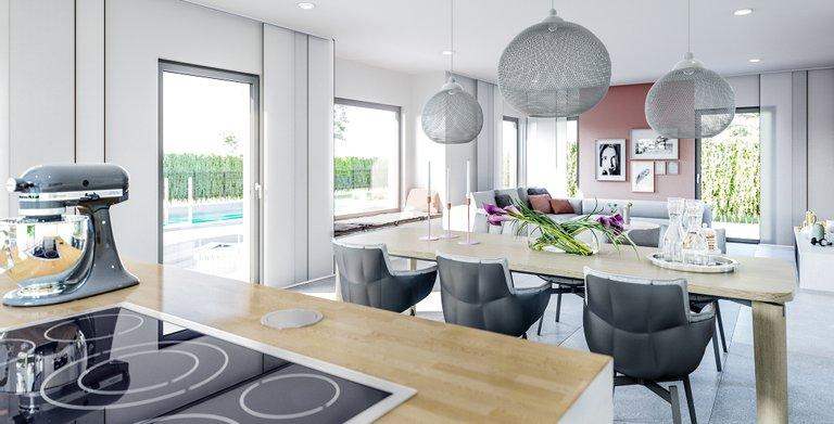87 wohnbeispiele wohnzimmer esszimmer wohnbeispiel for Modern eingerichtete wohnzimmer