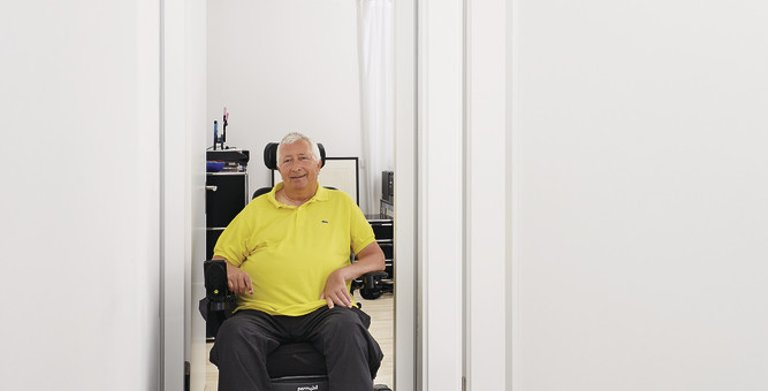 Ein Aufzug im eigenen Heim Copyright: WeberHaus