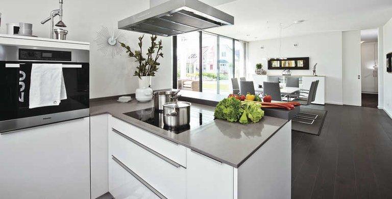 Offene küche copyright weberhaus