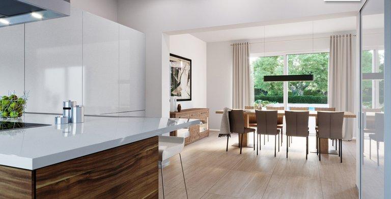Kern-Haus Mehrfamilienhaus Vivaro Küche Copyright: