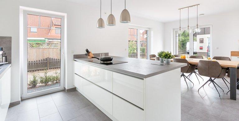 Stadtvilla 160 - Küche und Essbereich Copyright: