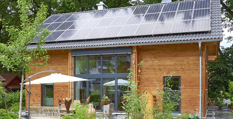Kundenhaus ALTENBERGER von Sonnleitner Holzbauwerke GmbH & Co. KG