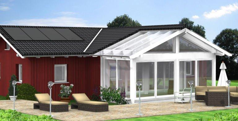 Planungsbeispiel Bungalow 114H10 von Bio-Solar-Haus