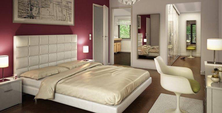 Wohnbeispiel Schlafzimmer Copyright: © Bien-Zenker GmbH 2019