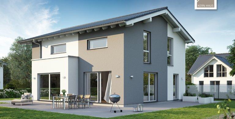 Kern-Haus Architektenhaus Vero Gartenseite Copyright: