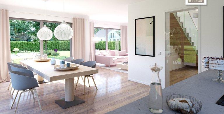 Kern-Haus Architektenhaus Vero Wohnzimmer Copyright: