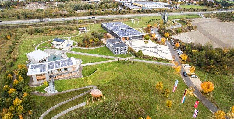 Das Firmengelände in Erkheim/Allgäu Copyright: Baufritz