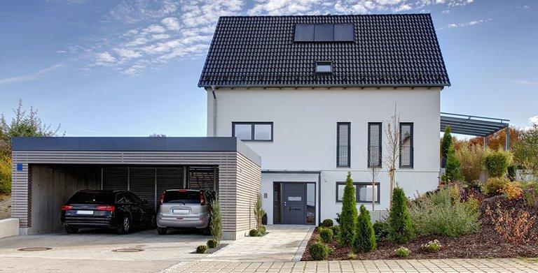 Hegger / Aussenansicht Sonnleitner Holzbauwerke Copyright: