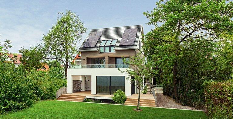 """Musterhaus """"Haus am See"""" in Langenargen Copyright: Baufritz"""