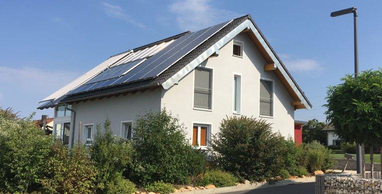 """Kundenhaus """"Amberg"""" Copyright: Bio-Solar-Haus"""