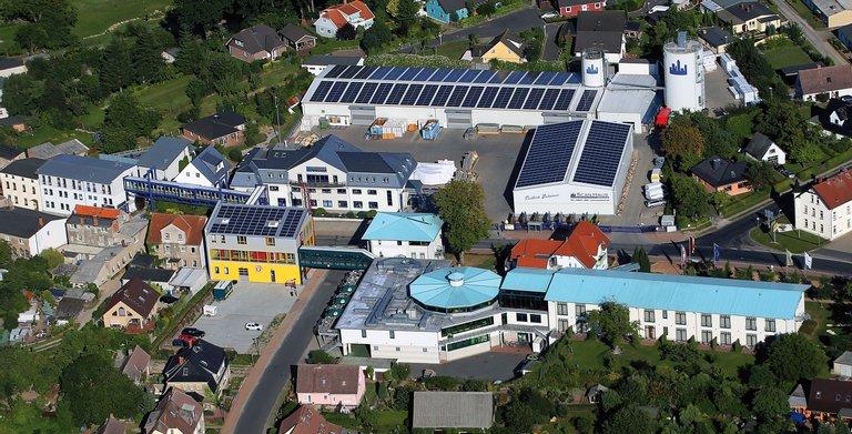 Firmensitz und Produktionsstandort von ScanHaus Marlow