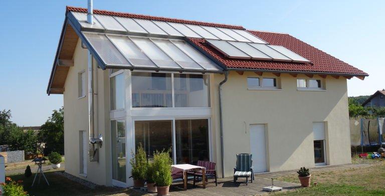 "Kundenhaus ""Würzburg"" Copyright: Bio-Solar-Haus"