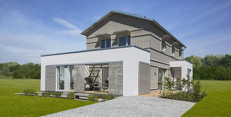"""Musterhaus """"Naturdesign"""" in Köln/Frechen Copyright: Baufritz"""