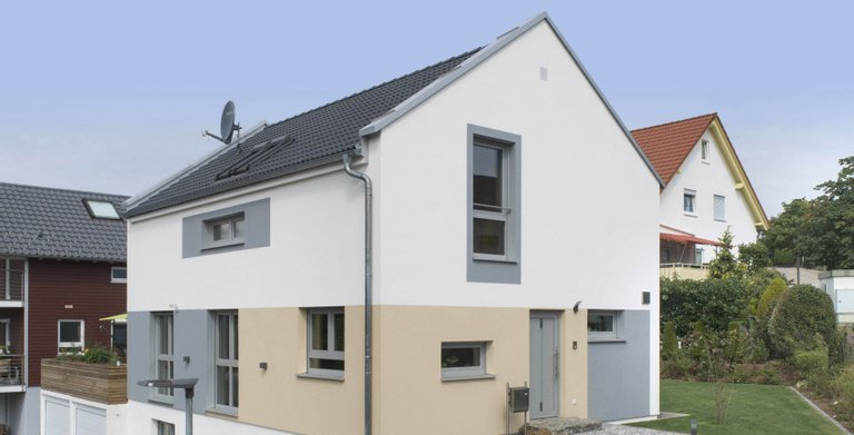 individuell geplantes Haus auf Keller Copyright: Copyright: Danwood