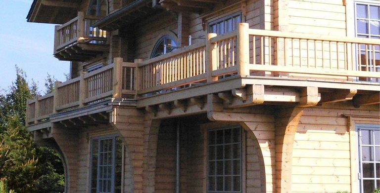 Blockhaus Villa 380 Copyright: MAD Mannarchitecturedesign.com