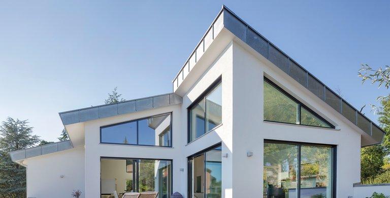 Kundenhaus Satteldach Landhaus 290