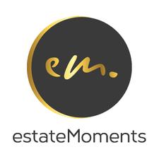 Logo von estateMoments GmbH, Ihre Immobilienmakler für Berlin und Potsdam