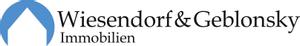 Logo: Michael Wiesendorf und W. Geblonsky Immobilien GbR